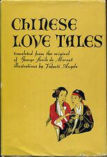 Chinese Love Tales by Charles Georges Souli-Valenti Angelo Illustrations-1950