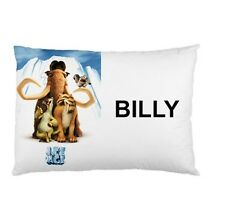 ICE AGE Personalized childrens kids BED pillow case