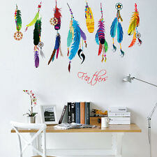 New Bedroom Decor Removable Birds Flying Feather Art Decal Wall Sticker Mural
