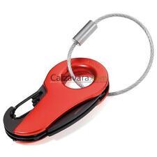 Portachiave TROIKA mm 65x33x10 - 6 Funzioni - Rosso