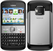 original Nokia E5 Black 3G WIFI GPRS QWERTY Keyboard Unlocked free shipping