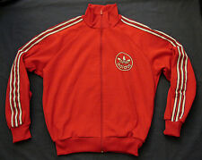 ADIDAS JACKET Vintage TRACKSUIT TOP Oldschool Trainingsjacke Jacke 80s M Retro