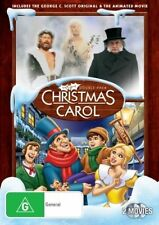 Christmas Carol Double Pack (double pack: original & animated movie) DVD