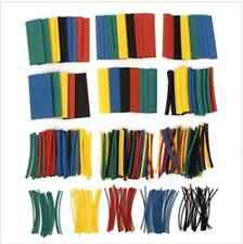 410pcs 2:1 Polyolefin Halogen-Free Heat Shrink Tube Sleeving 5 Color 10 Size