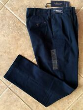 Polo Ralph Lauren Pleat Front Chino Pants Men's 36 x 32 Navy Classic Fit NWT