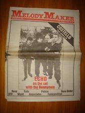 MELODY MAKER 1981 JAN 24 ECHO AND BUNNYMEN NEW ORDER