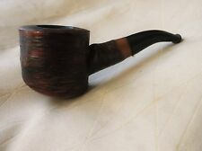 VINTAGE SUPERB GRAIN OF CHERRYWOOD SHORT TOBACCO SMOKING PIPE ROPP FRANCE