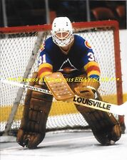AL SMITH Defends His NET 8x10 Photo COLORADO ROCKIES Star GOALIE WoW