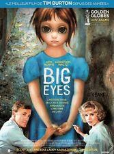 BIG EYES Affiche Cinéma / Movie Poster TIM BURTON Christoph Waltz 60x40