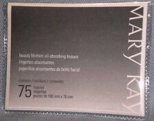 3 Pack Brand New Mary Kay Beauty Blotters Oil-absorbing Tissues