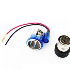 12V Blue Light Cigarette lighter for Vauxhall Corsa Astra Zafira NEW