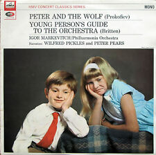 XLP 30064 Peter & The Wolf Young Person's Guide Markevitch Pickles Pears EX/EX