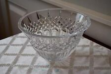 Stunning Diamond Cut Irish Lace Salad Bowl - may well be Waterford?