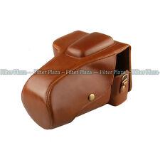 Leather Case Bag for Pentax K30 K-5 II K5II K52 SLR Camera 18-55mm 18-135mm Lens