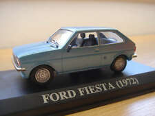 EXTREMELY RARE  FORD FIESTA  1972  PORTUGUESE NUMBER PLATE ALTAYA/IXO 1/43