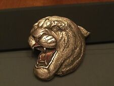 TIGER BELT BUCKLE! VINTAGE! RARE! 1980! GREAT AMERICAN BUCKLE! HEAVY! USA!