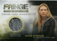 FRINGE - SEASON 5 - ANNA TORV AS OLIVIA DUNHAM WARDROBE CARD - M-1