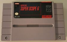 N) Super Scope 6 (Super Nintendo Entertainment System 1992) Video Game Cartridge