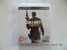 JEU PLAYSTATION 3 PS3 : CALL OF DUTY MW3 MODERN WARFARE 3     E3