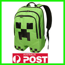 NEW Minecraft Creeper Backpack School Bag Official Australian Stock OW-AU