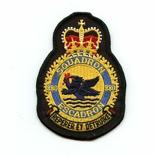RCAF CAF Canadian 880 Squadron Heraldic Colour Crest Patch
