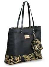 BRAND NEW VERSACE TOTE SHOPPER BEACH HAND BAG WITH DETACHABLE PURSE AND DUST BAG