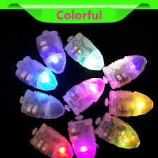 10× Mini LED Waterproof Light Balloon Wedding Party Xmas Table Decor Submersible