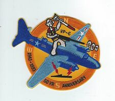 VP-6 50th ANNIVERSARY 1943-1993 patch