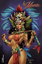 """Lady Death La Muerta #1 Descent """"'Aztec Queen""""    Ltd. Ed. 200 Comic Book"""