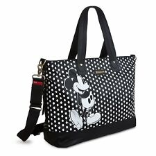 Storksak Disney Baby Mickey Mouse Diaper Bag Strollerstrap Shoulder Black White