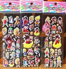 FD4328 Puffy Japan Anime Dragon Ball Z Stickers for Dragon Ball Z Fans ~3PCs~✿