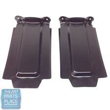 1965-65 GTO / LeMans Rear Bumper OE Metal Splash Shields - Pair