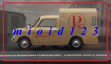1/43 - Autobianchi Bianchina Furgoncino : Cartiere Paolo PIGNA - 1968 - Die-cast