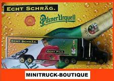 Pilsner Urquell / Czech beer truck, US Kenworth T800 with trailer, Scale HO/1:87