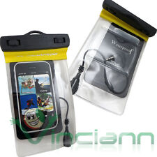 Custodia impermeabile armband+cuffie per Galaxy S3 mini Value i8200 mare CI5