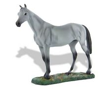 Breyer Horses Old Friends Bull in the Heather #1432 Grey Thoroughbred Racehorse