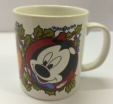 Disney Christmas Mickey Mouse Daisy Pluto Mug Cup Staffordshire Tableware