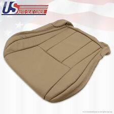 "1996 -02 Toyota 4Runner Limited Driver Bottom ""Synthetic Leather"" Seat Cover Tan"