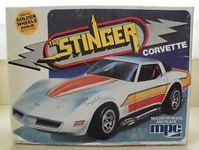 "MPC - ""THE STINGER"" 1981 CHEVROLET CORVETTE - MODEL KIT (OPENED)"