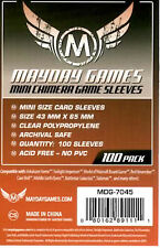 Mayday Games Mini Chimera Game Card Sleeves (43mm X 65mm) (100)
