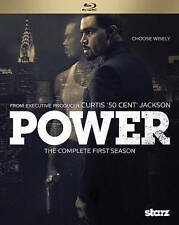 POWER: THE COMPLETE FIRST SEASON Blu-ray 50 Cent Curtis Jackson Starz 2 disc set