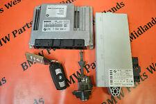 BMW 1 SERIES E87 116i ENGINE ECU KIT WITH ONE KEY 7550688