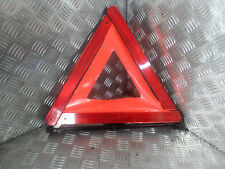 bmw hazard warning triangle comes with yellow hi viz vest