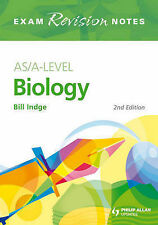 AS/A-level Biology Exam Revision Notes by Indge, Bill ( Author ) ON Jan-30-2009,