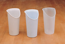 DRINKING AID -NOSEY CUP IN SANDSTONE -LIMITED DEXTERITY