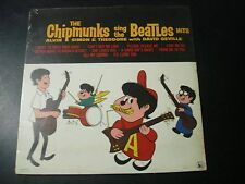 SEALED MINT THE CHIPMUNKS SING THE BEATLES HITS LP RECORD
