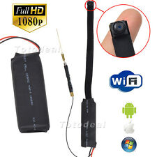 HD 1080P Spy IP Camera Mini DIY Module DV DVR WiFi Nanny Cam Video Security wifi