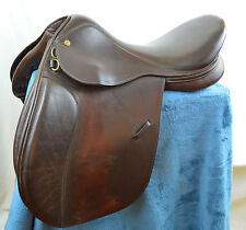 "17"" Collegiate Close Contact English Jump Saddle RD Ruiz Diaz All Purpose"