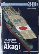 The Japanese Aircraft Carrier Akagi - Super Drawings in 3D - Kagero ENGLISH