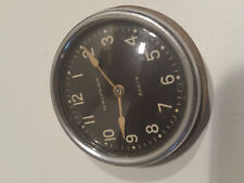 Vintage Antique Automobile Car Clock- Waltham 8 Day Works rear wind